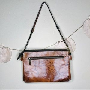 Patricia Nash leather map bag handbag purse